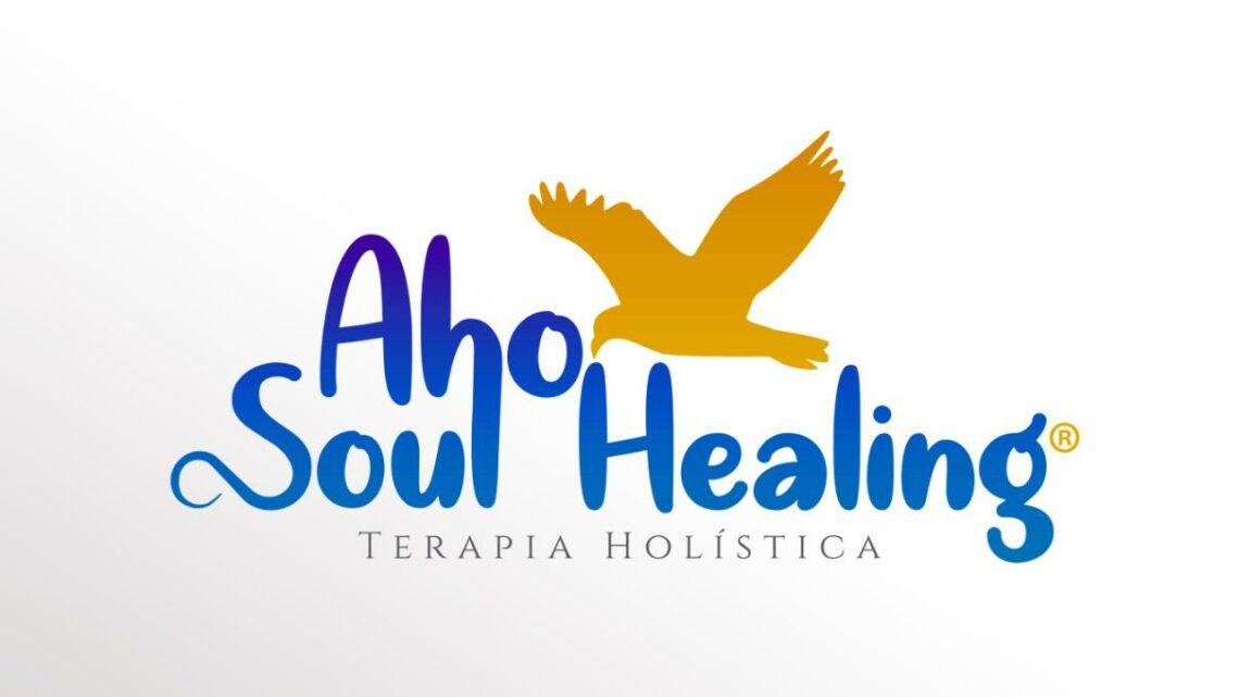 Logo Aho Soul Healing - Press UP Assessoria de Imprensa