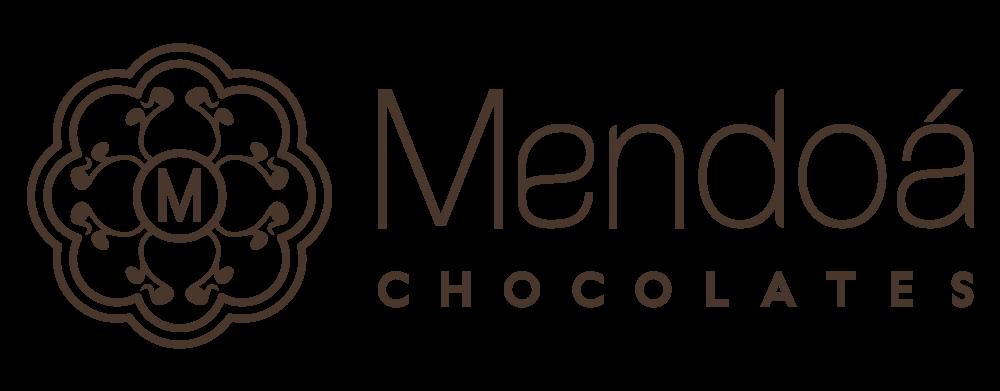 Logo Mendoá Chocolates - Press UP Assessoria de Imprensa